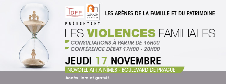 Violences Familiales 2016 Colloque ordre nimes